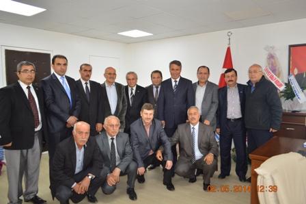 Çerkeş Dernekler Birliği Başkanımızı ziyaret etti.