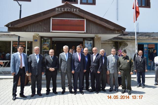 Çankırı Valisi Sayın Vahdettin Özcan ilçemizi ziyaret etti.
