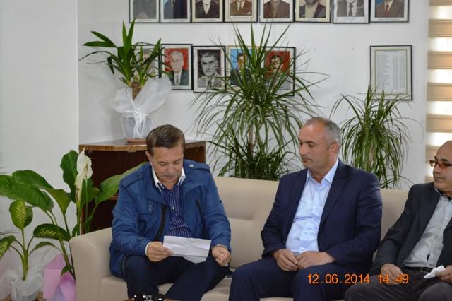 Pursaklar Belediye Başkanı Hemşerimiz Selçuk Çetin ilçemizi ziyaret etti.