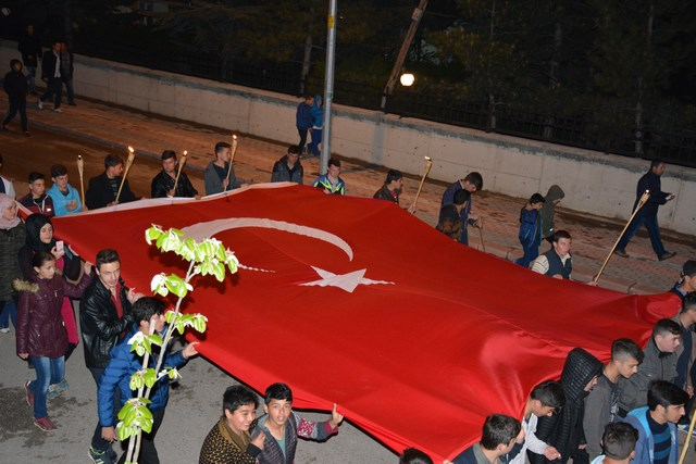 19 MAYIS ATATÜRK'Ü ANMA GENÇLİK VE SPOR BAYRAMINI COŞKU İLE KUTLANDI.