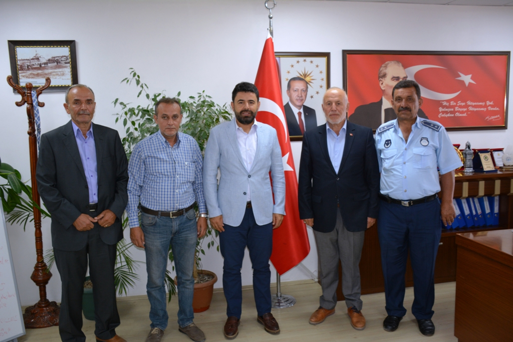 İstanbul Milletvekilimiz Osman BOYRAZ Belediyemizi ziyaret etti.