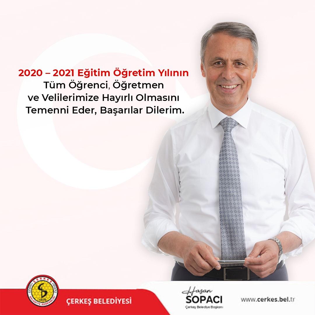 BAŞKANIMIZ SN. HASAN SOPACI'NIN 2020-2021 EĞİTİM - ÖĞRETİM YILI  MESAJI